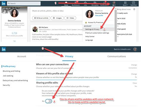 How To Delete My Resume Account by How To Keep Your Linkedin Profile Edits A Secret From Your