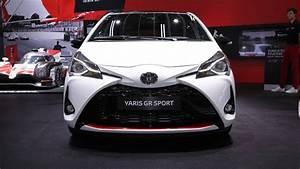 Toyota Yaris Sport : toyota yaris gr sport debuts in paris with visual hardware tweaks ~ Medecine-chirurgie-esthetiques.com Avis de Voitures