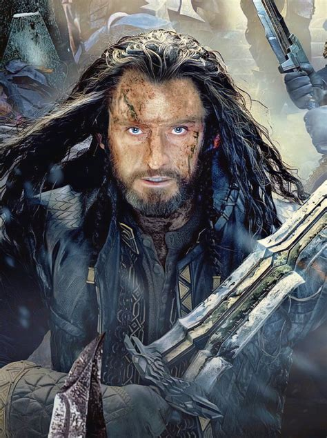 thorin oakenshield  hobbit film trilogy wikia