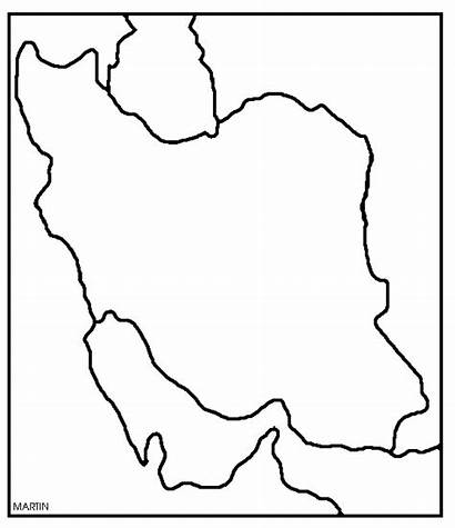 Iran Map Clipart Clip Middle East Clipground