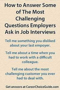 Simple Effective Resumes Answering Difficult Interview Questions