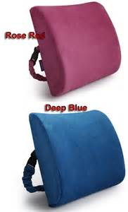 new soft lumbar back support cushion pillow for office
