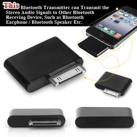 Ipod Adapter by Bluetooth Adapter Dongle Transmitter For Ipod Mini Ipod
