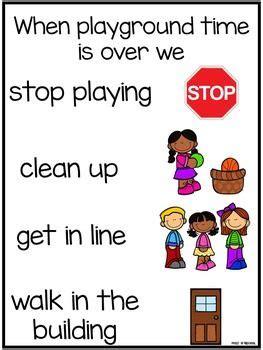 best 25 recess ideas on preschool 417 | 29fa27d52480654393c782fa41888efa recess rules book posters