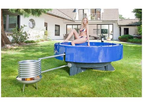 Whirlpool Garten Winterfest by Tub 2 0 Outdoor Badewanne Blau Whirlpools