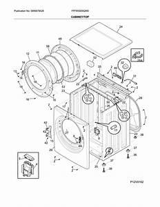 Frigidaire Model Fffw5000qw0 Residential Washers Genuine Parts