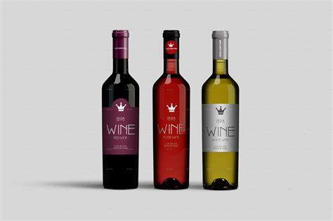 wine bottle wine bottle mockup by masterpixdesign graphicriver
