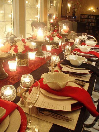 dinner setting  pretty cool blog  lots simple