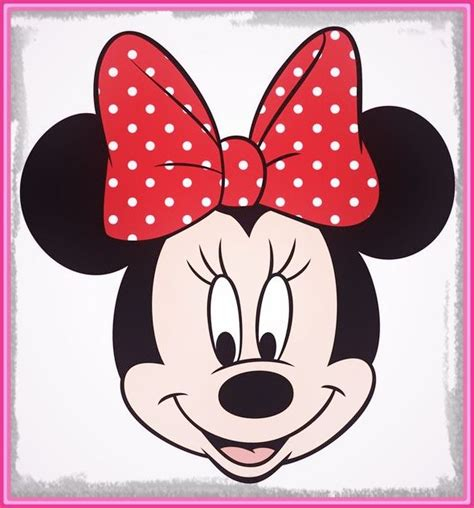 la cuisine de minnie molde de la cara de minnie mouse para imprimir archivos imagenes de minnie