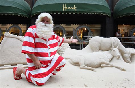 Santa Claus Stands Next To A Sand Sculpture Outside. Christmas Kitchen Ideas Pinterest. Christmas Lights For Sale In Adelaide. Swedish Christmas Light Decorations. Handmade Nordic Christmas Decorations. Denver Broncos Christmas Decorations. Pictures Of Homemade Christmas Decorations. Pink Floyd Christmas Decorations. Christmas Door Decorations For School Pictures