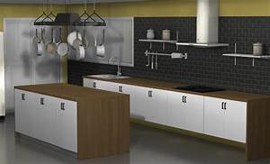 Fliesenspiegel Alternative Ikea : kitchen design ideas an ikea kitchen with fewer wall cabinets ~ Michelbontemps.com Haus und Dekorationen