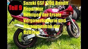 Motorrad Kühler Reinigen : suzuki gsf1200 bandit motorrad reparatur und umbau teil 9 vergaser reinigen und zusammenbauen ~ Orissabook.com Haus und Dekorationen