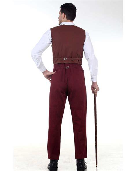 steunk neo victorian gothic gentlemen classic pants