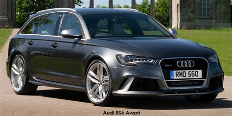 New 2019 Rs 6 Avant Prices And Specs