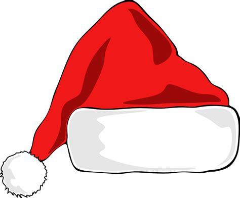 무료 벡터 그래픽 산타 모자 크리스마스 모자 산타 클로스 레드 디자인 pixabay의