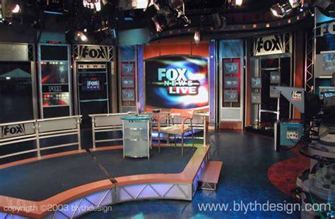 fox news channel broadcast set design gallery