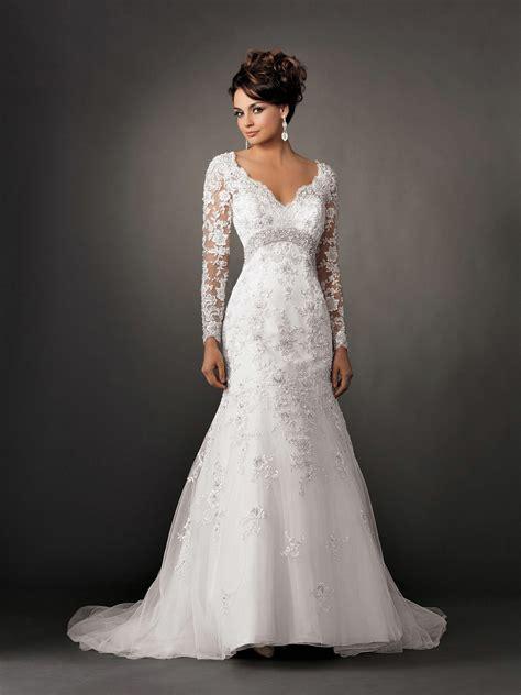 lace dress wedding lace sleeves wedding dresses sangmaestro