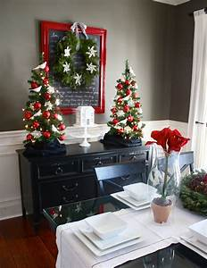 Top Holiday Dining Room Decorating Ideas 42 Regarding