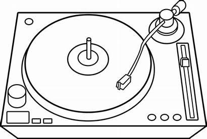Dj Line Turntable Clip Sweetclipart