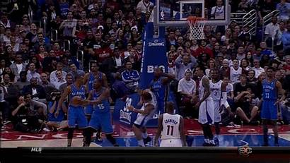 Ibaka Fight Serge Ejected Matt Barnes Nba