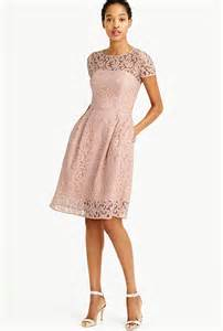 papell lace dress trubridal wedding 37 blush bridesmaid dresses