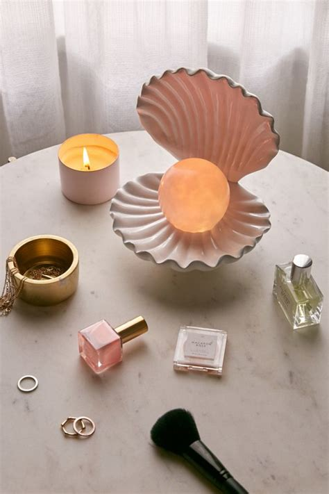 color changing led shell lamp urban outfitters