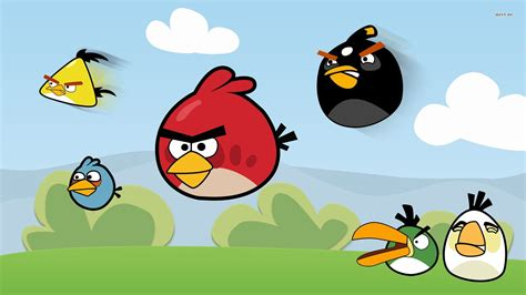 Angry Birds Background Angry Bird Wallpaper Backgrounds 7520 Wallpaper