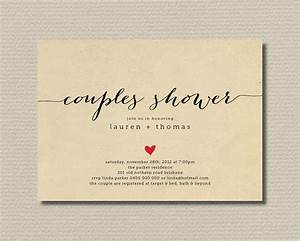 printable couples shower invitation simple sweet love With couples wedding shower invitations wording