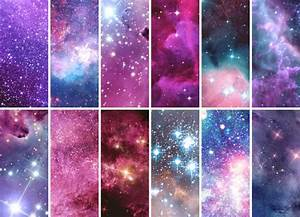 CC by Shenice93: Purple Galaxy Paintings