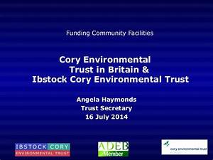 Ibstock Cory Environmental Trust and Cory Environmental ...