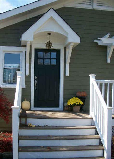front door  londens craftsman style cottage hooked