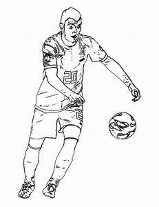 Kleurplaten Van Cristiano Ronaldo  U2022 Kidkleurplaat Nl