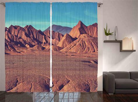 Western Style Decor Mountains Desert Wild West Cowboy