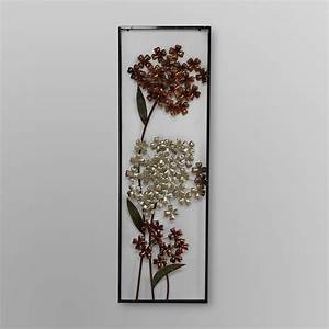 Framed metal wall art kmart