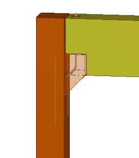 Corbel Beam by Concrete Component Exle Add A Corbel Connection Using