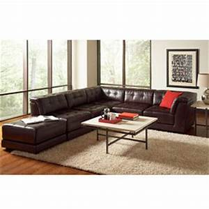stacey leather 6 piece modular sectional from macys home With stacey sectional sofa 6 piece modular