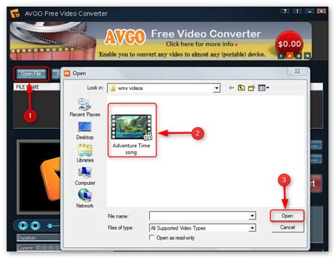 How To Convert Wmv To Mp4 For Free With Avgo Free Video