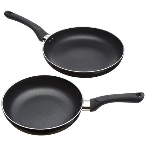 pcs black  stick fry pan set  top quality  designed cookware pots  pans set fry