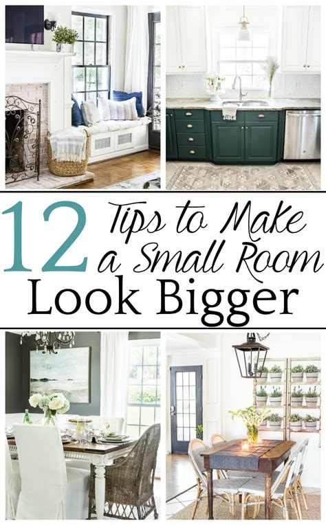 Paint Colors To Make Living Room Look Bigger by How To Make A Small Room Look Bigger Bless Er House