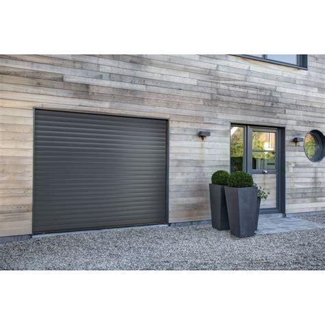 porte de garage enroulable leroy merlin porte de garage 224 enroulement excellence h 200 x l 240 cm leroy merlin