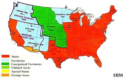 territorial expansion united states 1800 1850 The territorial sxpansion of the united states in the 1840's throughout 1815 to 1860, the usa more about essay about territorial expansion 1800-1850.