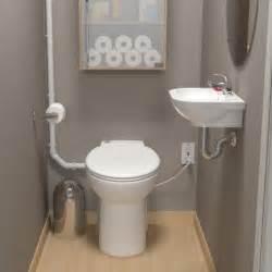 Basement Pump Up Toilet saniflo sanicompact self contained toilet pump system