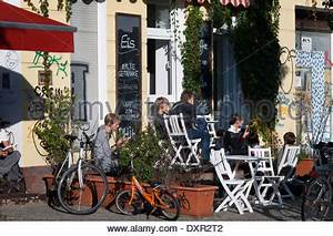 Cafe Caras Berlin : typical prenzlauer berg street scene cafes restaurants passersby stock photo royalty free ~ Indierocktalk.com Haus und Dekorationen