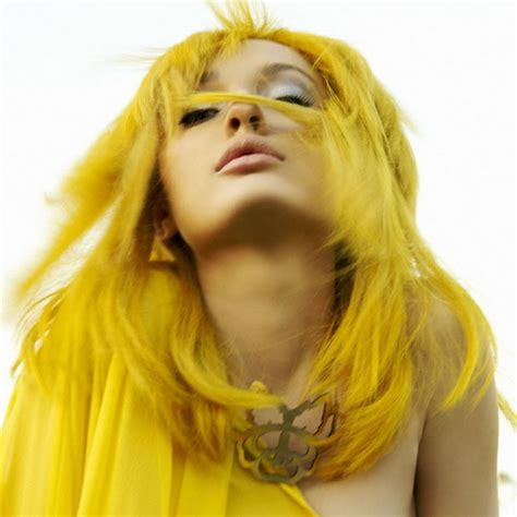 Vibrant Yellow 6 Crazy Yellow Hair Color Hairchalk