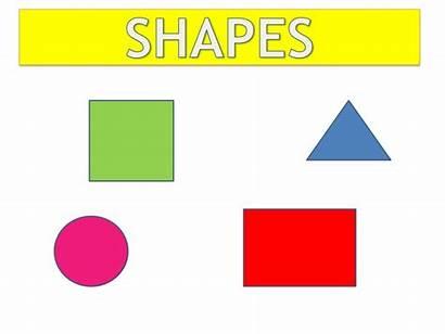 Shapes Basic English Slideshare