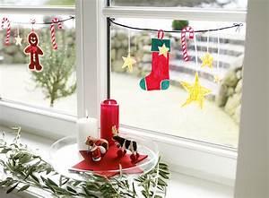 Fenster Bemalen Weihnachten : fensterdekoration im advent basteln ~ Watch28wear.com Haus und Dekorationen