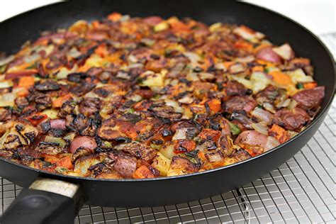 Root Vegetable Hash Browns With Scallions  Food & Style