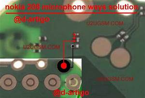 Nokia 208 Mic Solution Jumper Problem Ways Microphone