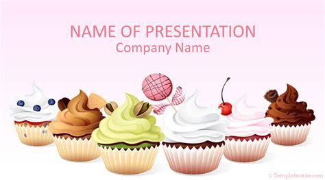 cupcakes powerpoint template templateswisecom