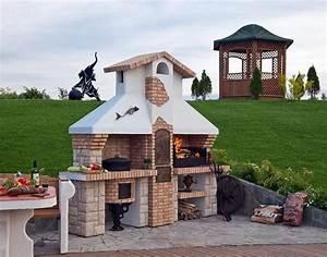 fabriquer un barbecue original en 23 idees creatives With barbecue en pierre fait maison